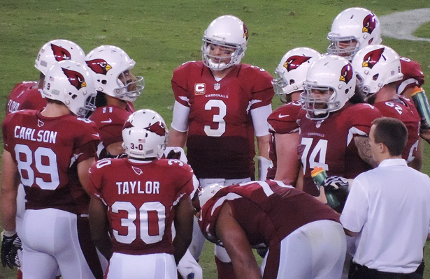 All eyes will be on Cardinals QB Carson Palmer tries to earn his first playoff win of his career. Photo Courtesy: Greg Buch | FFSwami.com