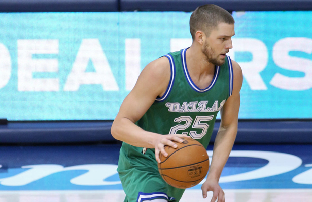 Even though Chandler Parsons hasn't fully recovered from injury, he's making his presence felt on the court these days. Photo Courtesy: Dominic Ceraldi