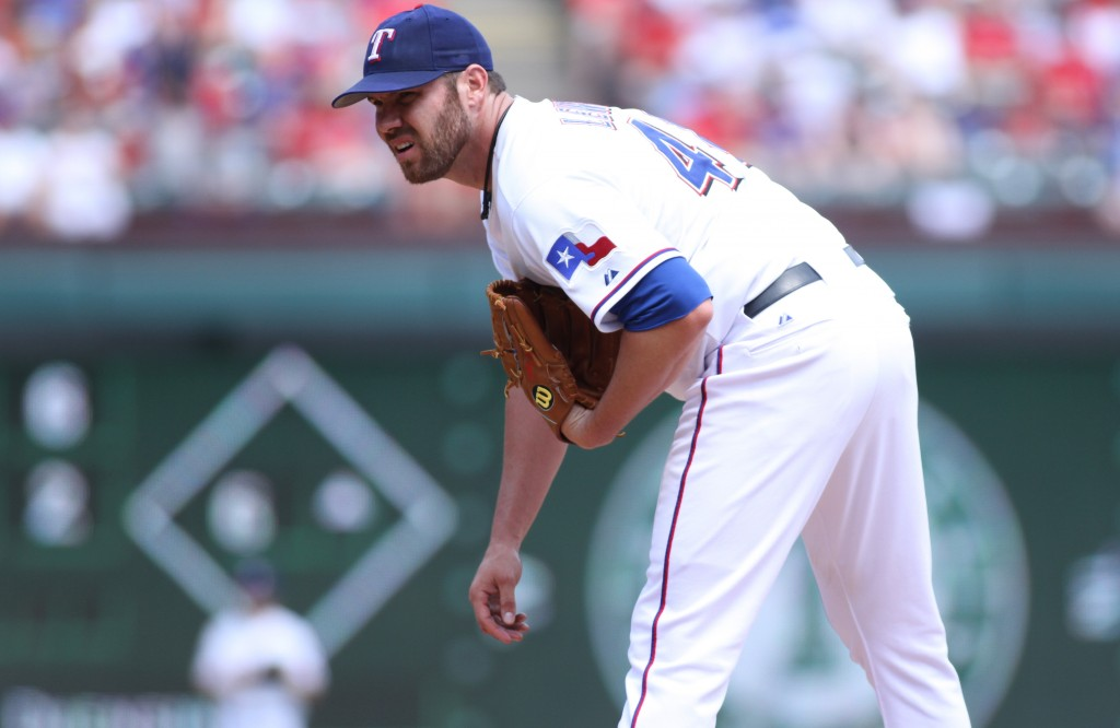 "The Texas Rangers signed Colby ""Cobra"" Lewis to his 10th MLB season. Photo Courtesy: Colby Lewis"