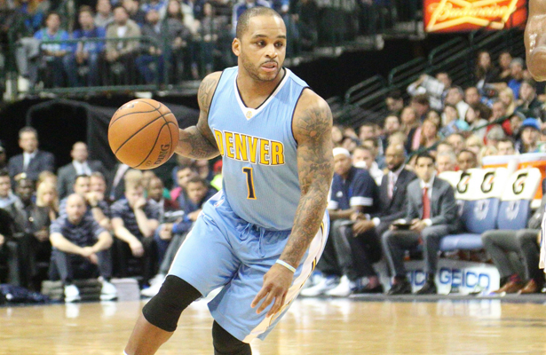 Former Maverick and current Nuggets PG Jameer Nelson is playing better as of late. Photo Courtesy: Michael Kolch