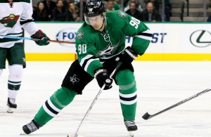 Stars' Jason Spezza had an assist in the game against the Ducks and a game tying goal against the Sharks this week.  Photo Courtesy: Dominic Ceraldi