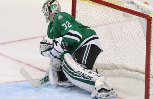 Kari Lehtonen was pulled from Sunday's game against the Islanders.  Photo Courtesy: Michael Kolch