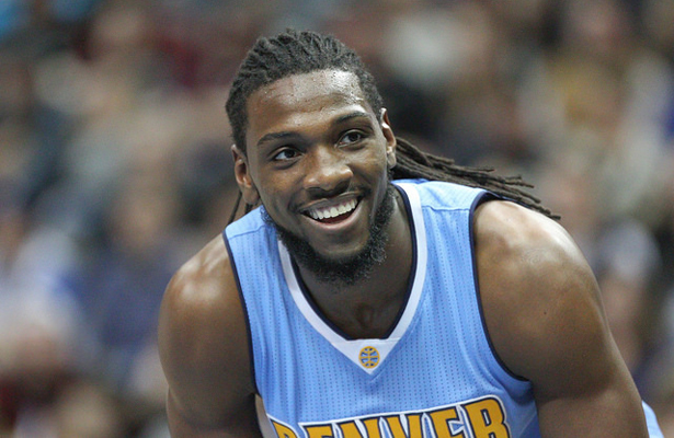 PF Kenneth Faried and the Nuggets are happy to have some quality wins last week. Photo Courtesy: Michael Kolch