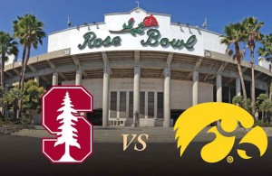 Stanford is very familiar with Rose, but this Iowa's first trip back since 1990. Photo Courtesy: Rose Bowl Stadium Facebook Page