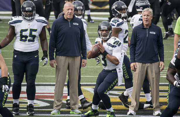 Russell Wilson and the Seahawks begin their attempt to make three straight Super Bowls on Sunday. Photo Courtesy: Keith Allison