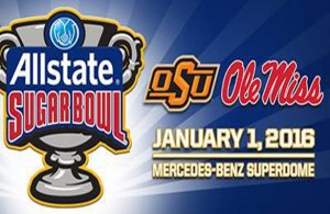 It'll be an interesting matchup between the SEC and the Big 12 when the Rebels take on the Cowboys. Photo Courtesy: Allstate Sugar Bowl Facebook Page
