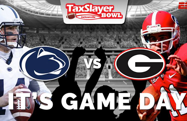 Will the Bulldogs send head coach Mark Richt out a winner? Photo Courtesy: TaxSalyer Bowl Facebook Page