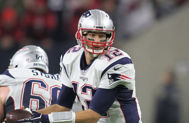 Tom Brady and the new England Patriots will probably have to dig deep in their bag of tricks to beat the Kansas City Chiefs on Saturday. Photo Courtesy: Rick Leal