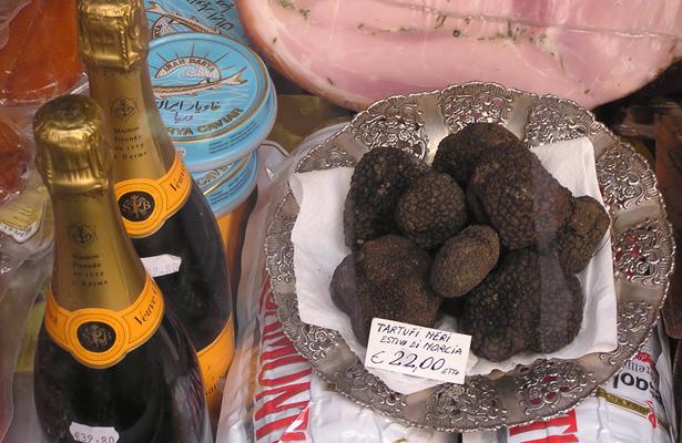 Black summer truffles anyone? Photo Courtesy: Adrian Pingstone