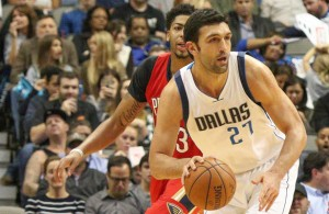 Zaza Pachulia has been a tremendous asset since joining the Mavericks. Photo Courtesy: Michael Kolch