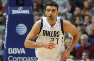 Dallas Mavericks C Zaza Pachulia makes his first return to Milwaukee since leaving the team on Friday night. Photo Courtesy: Michael Kolch