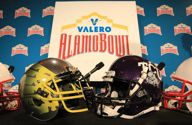 This year's Alamo Bowl will still be a good one despite the arrest of TCU Horned Frog QB Trvone Boykin. Photo Courtesy: Valero Alamo Bowl Facebook Page