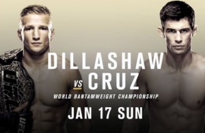 Dillashaw vs. Cruz will be awesome and the best part? It's free!