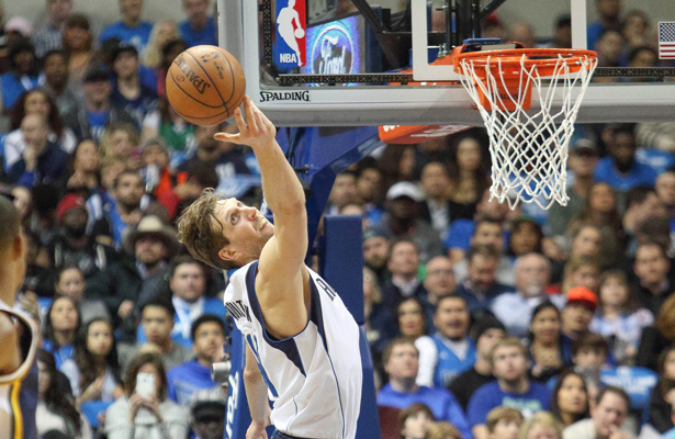 Father Time might be catching up to Dirk Nowitzki, but he's still got a lot in the tank. Photo Courtesy: Michael Kolch