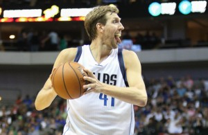 The Big German, Dirk Nowitzki became the sixth player in NBA history to reach 29,000 points. Photo Courtesy: Michael Kolch
