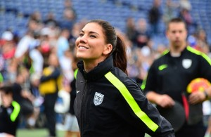 Hope Solo earned her 95th shutout and earned her 144th win, which has extended her records even further. Photo Courtesy: Love @ll