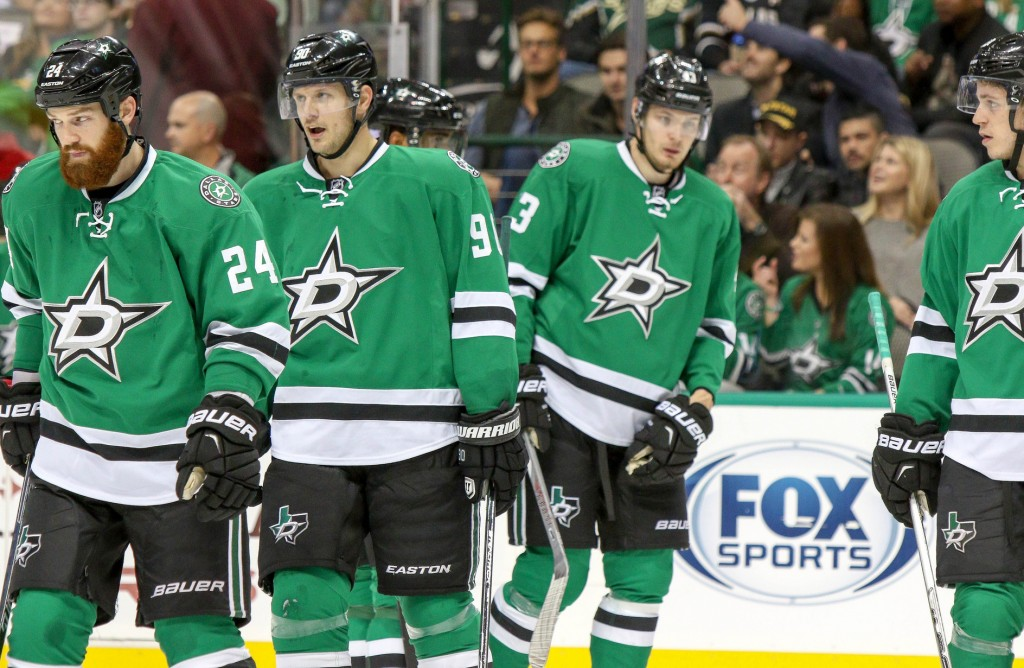 The Stars win their first game of the week, Monday, against the Predators, but lose their final three. Photo Courtesy: Michael Kolch
