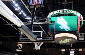 With 10 games left in the regular season, it's do or die for the Mean Green Men's Basketball team. Photo Courtesy: Bruce Chandler