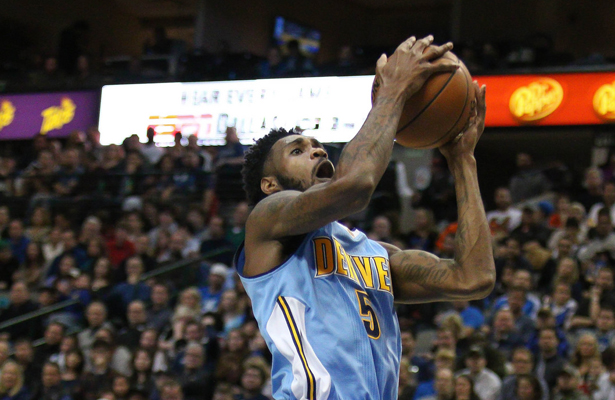 Denver Nuggets SF Will Barton came off the bench to score 20 points in the win against the Pistons. Photo Courtesy: Michael Kolch