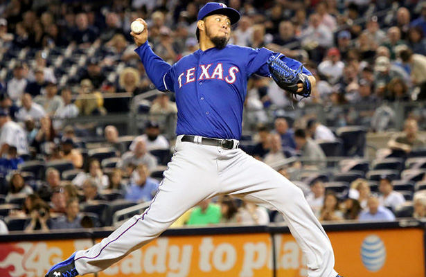 The trade for Yovani Gallardo helped the Rangers make the postseason last year as a result Gallardo pitched for the Rangers in Game 1 of the 2015 ALDS against the Toronto Blue Jays, earning the win. Photo Courtesy: Arturo Pardavila III