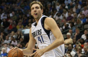 The Big German, Dirk Nowitzki has turned back the clock recently with some great performances. Photo Courtesy: Michael Kolch