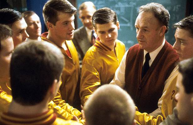 "Did you know that In 2001, Hoosiers was selected for preservation in the United States National Film Registry by the Library of Congress as being ""culturally, historically, or aesthetically significant"". Photo Courtesy: Metro-Goldwyn-Mayer Studios"