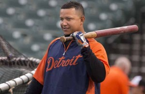 Expect Tigers 1B Miguel Cabrera to once again make an impact with his bat. Photo Courtesy: Keith Allison