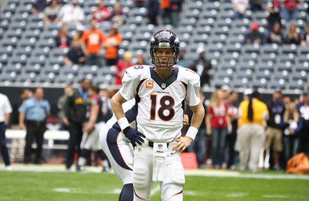 One of the greatest NFL quarterbacks to play the game, today Peyton Manning will announce his retirement. Photo Courtesy: Rick Leal
