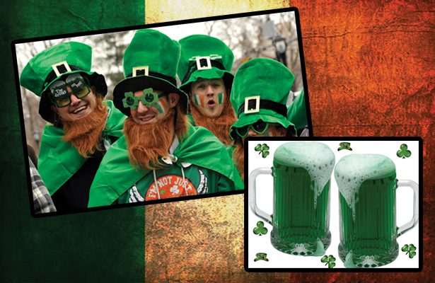 Get your green on at one of these venues on St. Patrick's Day!
