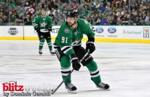 Tyler Seguin has been held off the score sheet for three consecutive games.