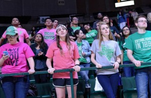 The students as well as UNT MBB fans will have to wait for next season to have a shot at some March Madness. Photo Courtesy: Bruce Chandler