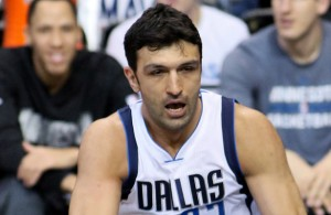 Mavericks C Zaza Pachulia needs to be a monster on the boards. Photo Courtesy: Dominic Ceraldi