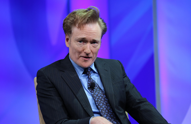 Conan O'Brien drops some knowledge bombs on you. Photo Courtesy: National Cable & Telecommunications Association