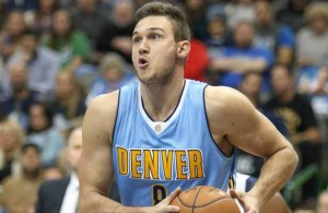 Denver Nuggets SF Danilo Gallinari is an unrestricted free agent. Is he worth keeping around? Photo Courtesy: Michael Kolch