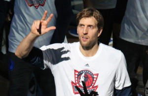Dirk Nowitzki will return next season which means the rebuilding process is on hold for the time being. Photo Courtesy: Michael Kolch
