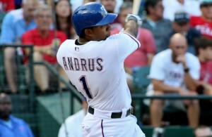 Rangers SS Elvis Andrus is off to a hot start and once again the trade rumors begin. Photo Courtesy: Dominic Ceraldi