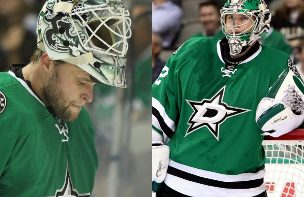 Stars two-goalie system=13 games both goaltenders have been used in the same game. Most in the NHL.
