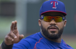 Rangers' Prince Fielder's game winning RBI was the Rangers lone hit against King Felix and Seattle. Photo Courtesy: Keith Allison