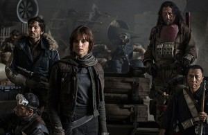In Rogue One: A Star Wars Story, Rebel fighters come together to carry out a desperate mission: to steal the plans for the Death Star. Photo Courtesy: Walt Disney Studios Motion Pictures