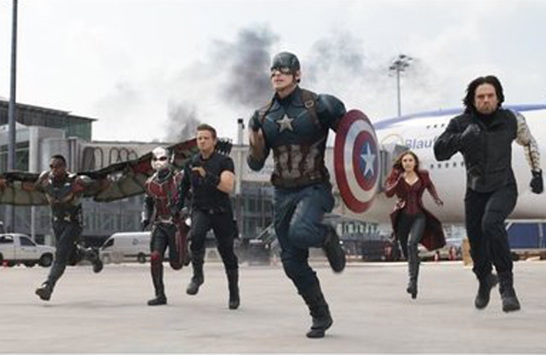 Captain America: Civil War begins the next wave of Marvel movies. Photo Courtesy: Walt Disney Studios  Motion Pictures