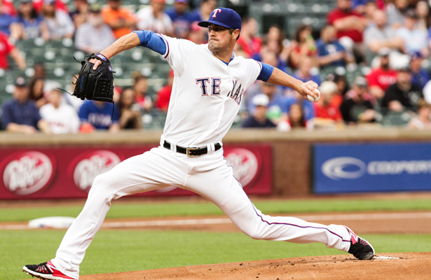 Cole Hamels is now 5-0 on the season and will take on the Pirates this Friday. Photo Courtesy: Darryl Briggs