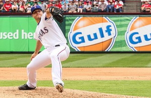 It might be a while before Rangers fans get to see Shawn Tolleson saving a game. Photo Courtesy: Darryl Briggs