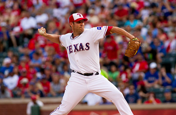 Colby Lewis has started off the season strong and is a major reason the Rangers are the team to beat in the AL West. Photo Courtesy: Darryl Briggs