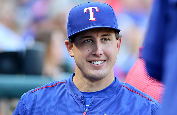 Texas Rangers SP Derek Holland was all smiles after getting back in the win column. Photo Courtesy: Derek Holland