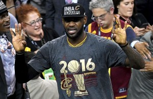 LeBron MVP