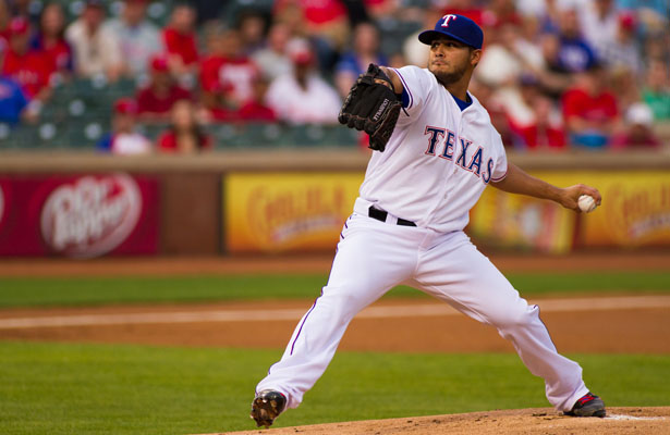 Martin Perez has quietly turned his season around with a winning record and a 3.22 ERA. Photo Courtesy: Darryl Briggs