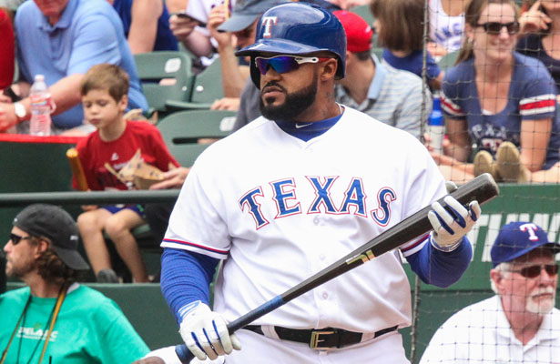 Rangers DH Prince Fielder has driven in 40 runs and perhaps is gearing up for a second-half surge. Photo Courtesy: Darryl Briggs