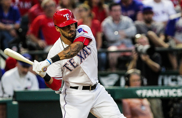 Acquired prior to the start of the season, Rangers Ian Desmond has been a pleasant surprise. Photo Courtesy: Darryl Briggs