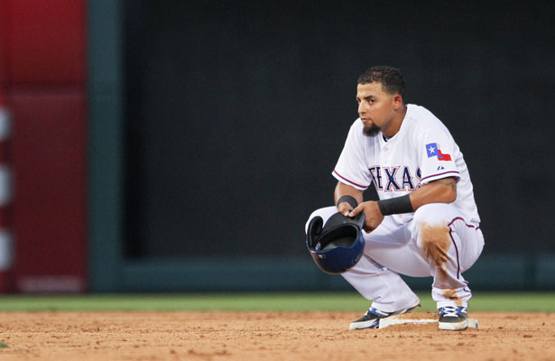 Rangers 2B Rougned Odor had a great June with seven home runs, but so far in July he's only 2 for 13 at the plate. Photo Courtesy: Darryl Briggs