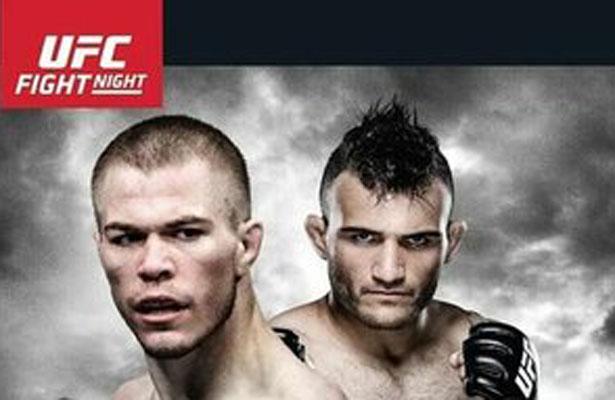 UFC Fight Night 91 features McDonald (left) vs. Lineker (right) on Fox Sports 1 on Wednesday night.